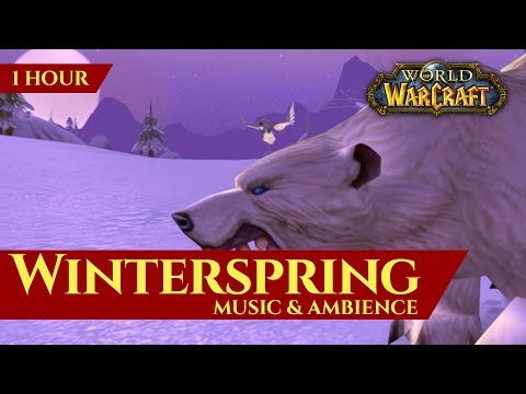 Winterspring Music & Ambience (1 hour, Vanilla World of Warcraft)