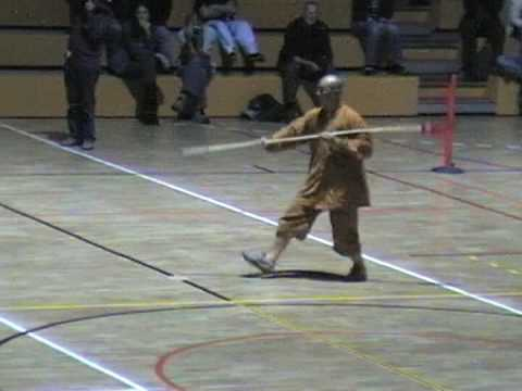 Taiji Spear Demonstration