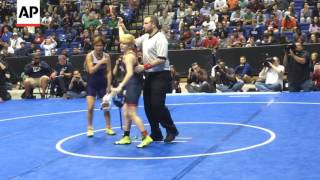 Transgender Boy Wins Texas State Girls Wrestling Title