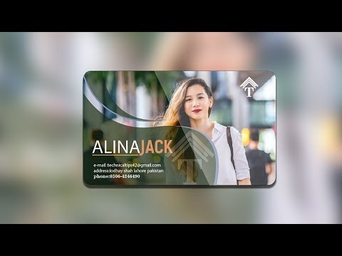 how to create a business card in adobe illustrator tutorial thumbnail