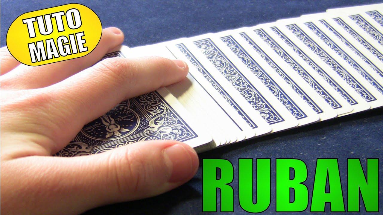 apprendre faire un ruban de cartes tuto magie youtube. Black Bedroom Furniture Sets. Home Design Ideas