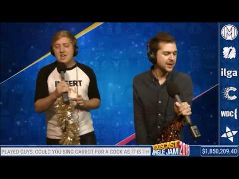 Yogscast Martyn and Lewis sing: Mr Brightside