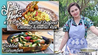[Judy Ann's Kitchen 13] Ep 5 : Coconut-Turmeric Rice, Grilled Seafood | Balinese Food
