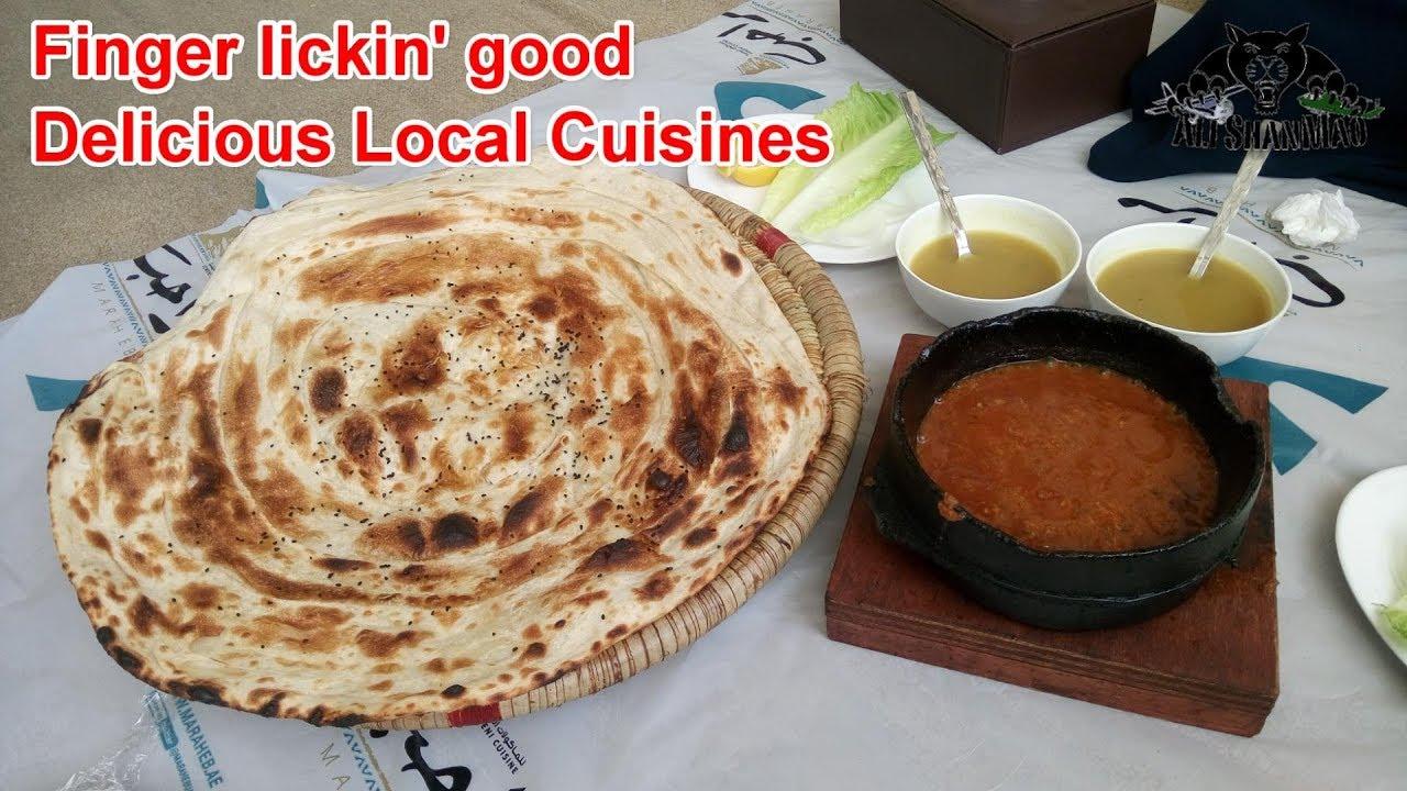 Delicious Local Food Marahab Yemeni Restaurant Ras Al Khaima