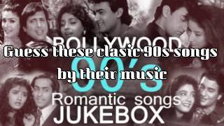 Guess the Bollywood 90s songs | Fun Games | Quiz | Best guessing game
