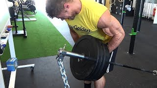 NEW BACK TECHNIQUES - Heavy Back Workout - Classic Bodybuilding