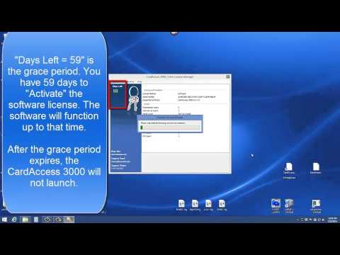 Activating a Software License via a license File