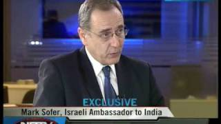 NDTV Hindu - A Special Guest-Mr Mark Sofer-The Ambassador of Israel to india on Night Vision - 1 (2)