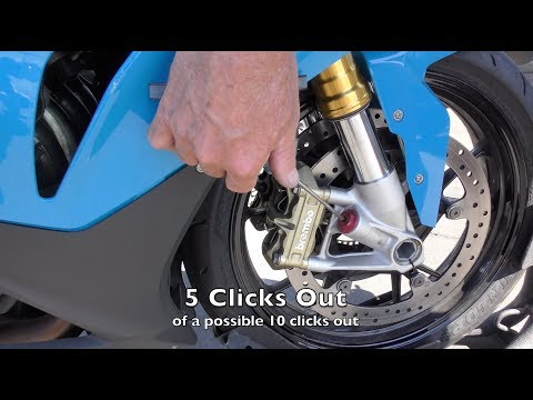 Motorcycle Suspension Adjusters: What Why Where And How
