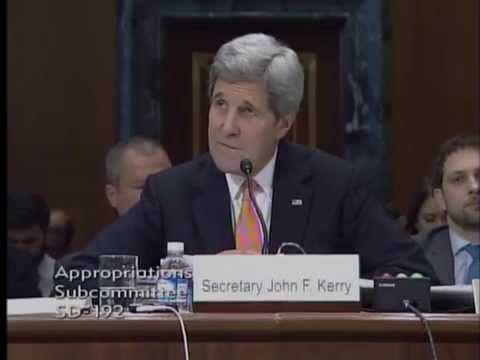 Boozman Questions Sec. Kerry at Senate Appropriations Committee Hearing