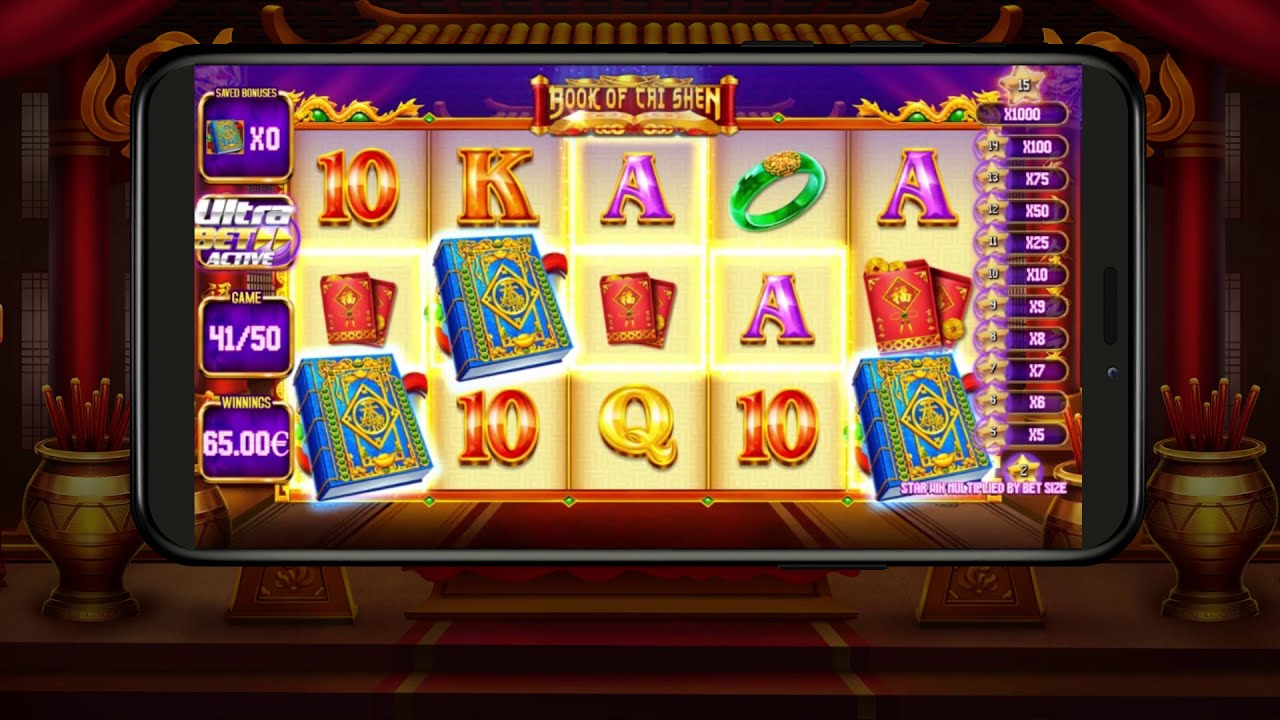 Book of Cai Shen Slot Play Free ▷ RTP 96% & High Volatility video preview