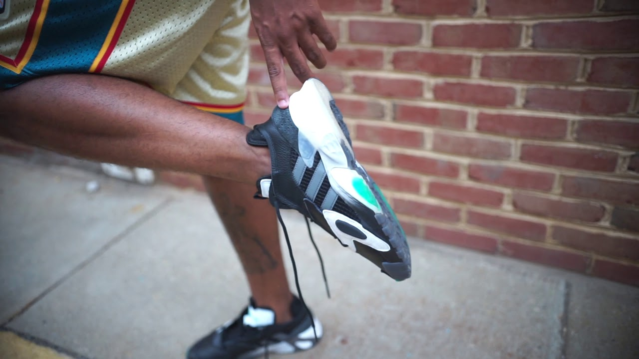 The adidas Streetball 'Black/Teal\