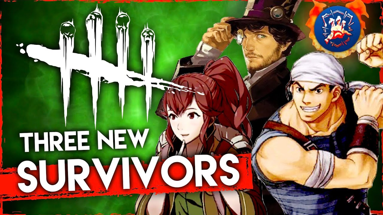 Dead By Daylight - Fan-Made Chapter! 3 New Survivors (Easy, Intermediate, Hard)