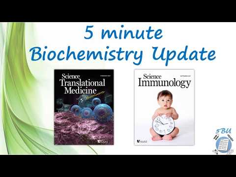 5 minute Biochemistry Update (5BU) - Science Journal - Sep/2017 - Cover Papers (Articles)