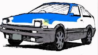 Drawing- Toyota AE86