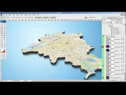 Tutorial - From Google Screenshot to 3D Map - 3D Map Generator Pro