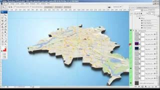 البرنامج التعليمي من Google لقطة خريطة 3D - 3D Map Generator Pro