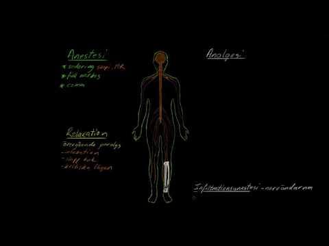 Anestesi01 Introduktion Till Anestesi