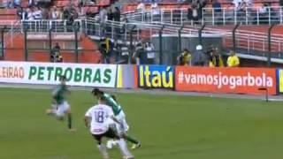 Corinthians 2 x 1 Palmeiras - Brasileirão Série A 2012 - 24/06/2012
