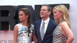 JASON BOURNE European Premiere Red Carpet