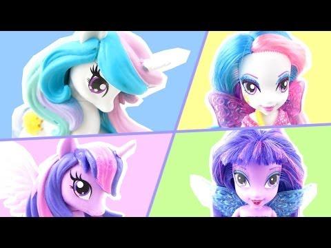 Equestria Collection Princess Twilight Sparkle and Princess Celestia Equestria Girls Dolls review!