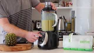 7 Day Super Power Ultimate Herbal Detox - Orange And Pineapple Smoothie