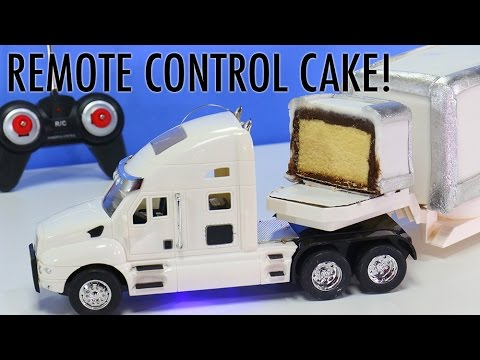 Remote Control Truck Cake How To Make A Moving Rc Truck