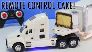 REMOTE CONTROL TRUCK CAKE - How to make a Moving RC Truck CAKE