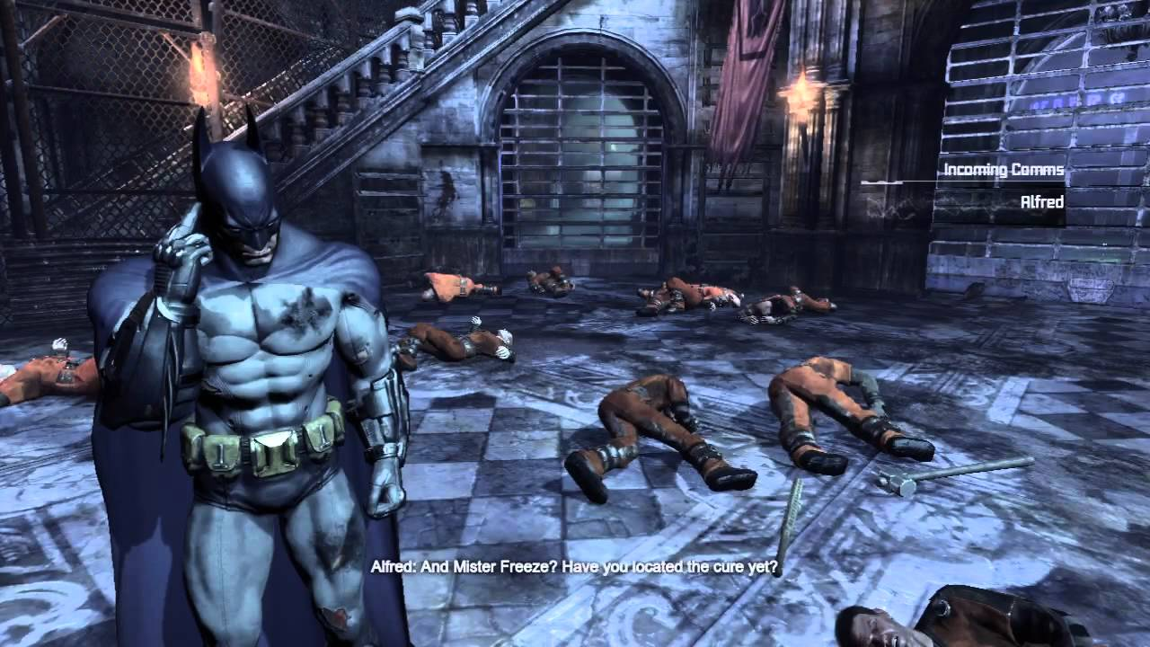 maxresdefault batman arkham city gladiator pit walkthrough on hard part 11 arkham city museum fuse box at crackthecode.co