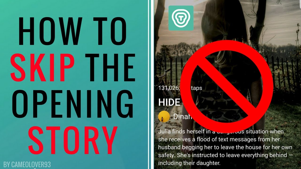 How To Skip The Opening Story on Tap by Wattpad & Get To The ...