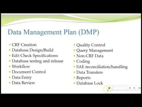 UNCW CLR 450 Module 3 Common Data Management Documents Video