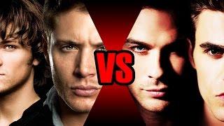 Irmãos Winchester VS Irmãos Salvatore | Batalha Mortal | Ei Nerd