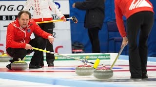 CURLING: DEN - BUL WCF World Mixed Doubles Chp 2016 - Qualification