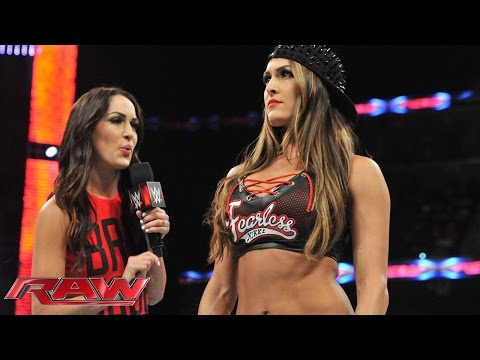 "Nikki demands that Brie cease calling herself a ""Bella"": Raw, Sept. 22, 2014"