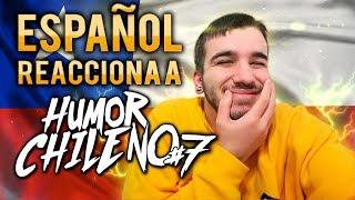 ¡ME MENCIONAN! | ESPAÑOL REACCIONA  A HUMOR CHILENO #7 😂