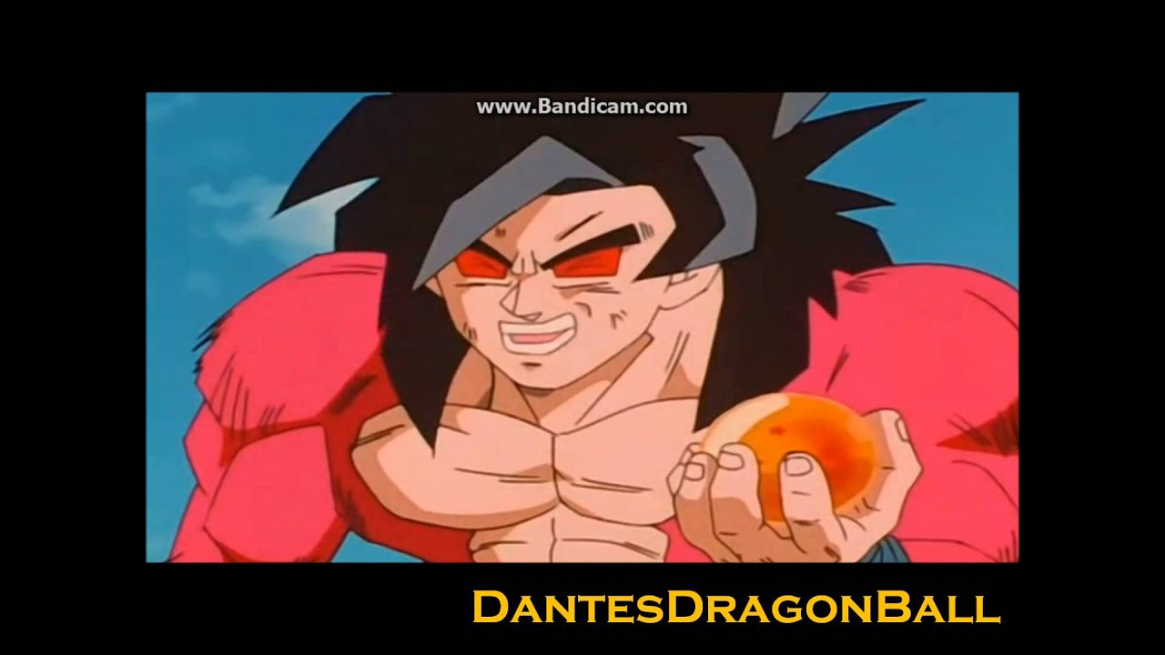 Dragon Ball Gt Goku Swallows A Dragon Ball Youtube