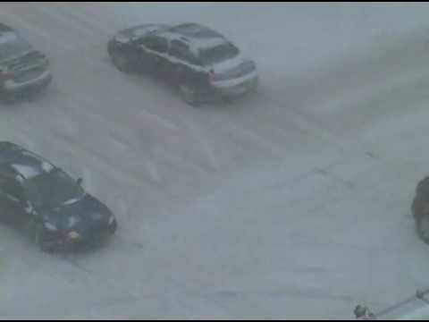 weather report: Crazy snow storm in Ottawa