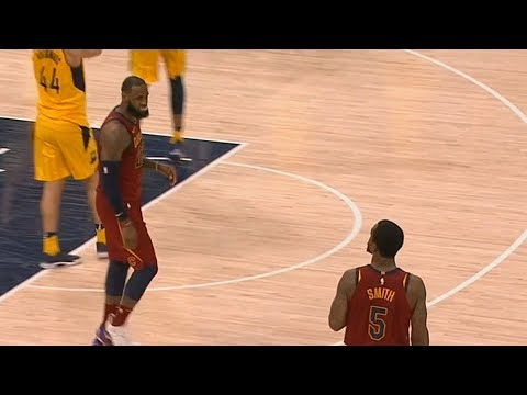 JR Smith Misses Game Winner and LeBron James Is Not Happy! Cavaliers vs Pacers