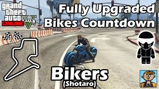 Fastest Bikers DLC Vehicles (Shotaro) - Best Fully Upgraded Bikes In GTA Online