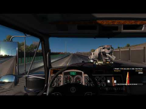 [New Mexico DLC] Gallup - Roswell Gameplay - American Truck Simulator