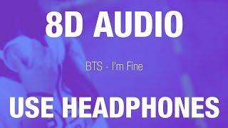 Download Lagu BTS - I'm Fine   8D AUDIO mp3
