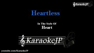 Heartless (Karaoke) - Heart