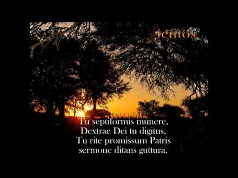 Canto Gregoriano - Veni, Creator Spiritus - con letra
