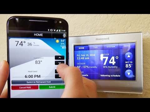 Honeywell Wi-Fi Smart Thermostat - REVIEW