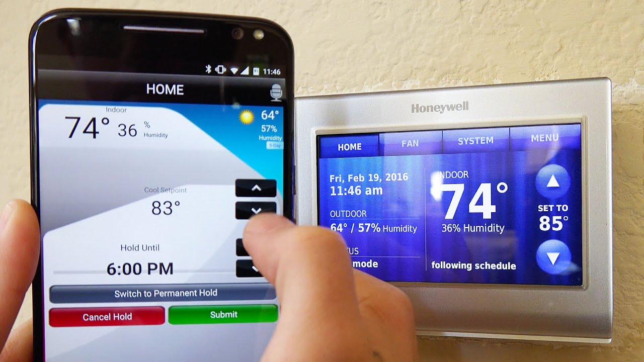 Honeywell WiFi Smart Thermostat  REVIEW  YouTube