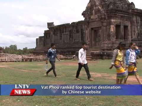 Lao NEWS on LNTV: Vat Phou ranked top tourist destination by Chinese website.8/2/2016