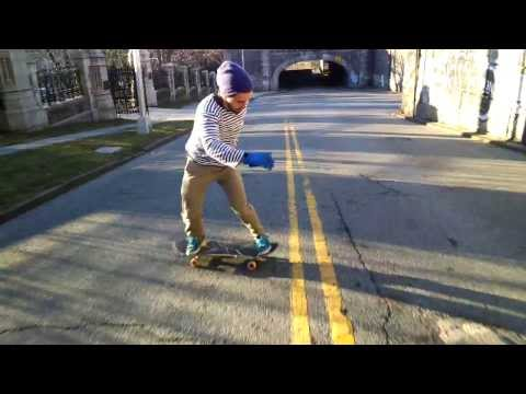 Skateboarding Through Google Glass - Silverfish Longboarding