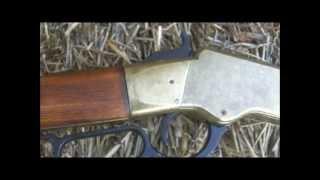 Denix Henry 1860 Nonfiring Replica Rifle Brass - Prop Gun