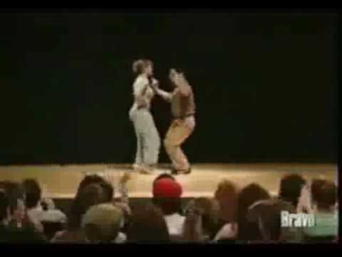 Good Sport Jennifer Lopez Dances with Show Host After Request