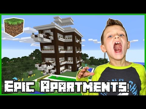 Epic Apartments! / Minecraft